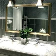 full wall bathroom mirror ideas mirrors and lamps kids room delightful with neutral colored frame placed