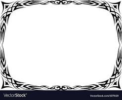 oval frame tattoo design. Fantastic Oval Frame Tattoo Illustration - Picture Design .