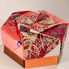 Decorative Gift Boxes With Lids Decorative Hexagonal Origami Gift Box with Lid 100 Flickr 30