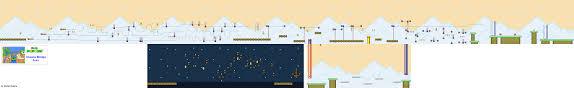 Super Mario World Levels Game Maps