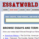 where to essays online essay writing help from essay uk com essayworld offers a library of thousands of book reports and essays online these works contain up to date information to help you in becoming an excellent