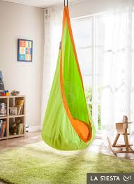 Organic Hanging Chair Nest For Kids JOKI PLANET APPLE RelaxTribe