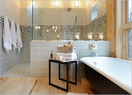 modern guest bathroom design. bathroom:astonishing modern guest bathroom with white framed mirror also lights beautiful design m