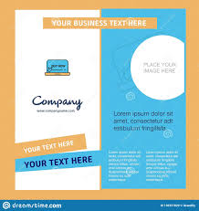 Company Brochure Design Online Online Shopping Company Brochure Template Vector Busienss