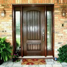 exterior wooden doors front for in gauteng oak door with glass side panels and frames