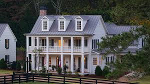 southern living house plans. Delighful Living House Plans With Stacked Porches Intended Southern Living L