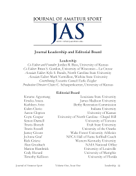 Journal Leadership and Editorial Board