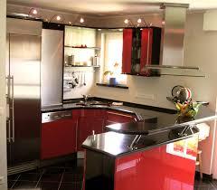 Kleine Moderne Küche Funvit Kuchen Mit Integrierte Esstisch