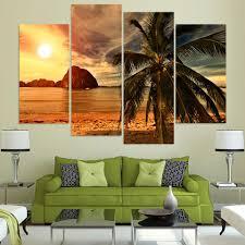 Palm Tree Decor For Living Room Palm Tree Art Promotion Shop For Promotional Palm Tree Art On