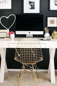 black and gold desk gold desk chair black and gold office chair
