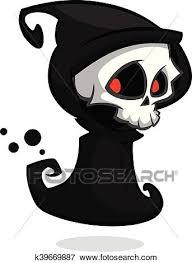 grim reaper cartoon character clip art