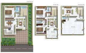 cool home plans blueprints india contemporary plan 3d house