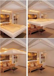 Wonderful Turn Your Bedroom Into A New Living Room. The Idea Behind Of This Lift Bed  Is Ingenious But Simple. Whenever Your Bed Is Not In Use, It Glides Gently  Into ...