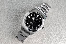 Rolex Appreciation Chart A Week On The Wrist The Rolex Explorer Reference 214270
