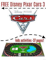 Free Cars Printables Free Cars 3 Kids Printables 37 Pages Cars3 Raising Whasians