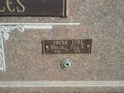 Freda Belle Sims Maples (1934-1975) - Find A Grave Memorial