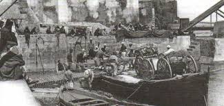 Конфликты кризисы и союзы Европы в начале века Новая история  Французская артиллерия в Марокко Фото 1911 г