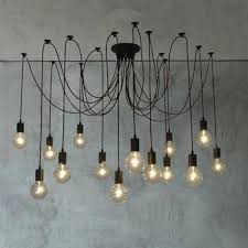 pendant lighting edison bulb. observatory lighting 14 heads thomas edison bulb chandelier pendant light replica i