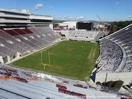 Lane Stadium Interactive Seating Chart Lane Stadium View From South Endzone 503 Vivid Seats