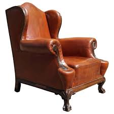 pendale style carved pale gany antique english wing chair images surprising winged armchair covers pottery barn