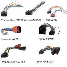 good quality car auto audio radio wire harnesses connectors car auto audio radio wire harnesses