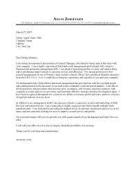General Resume Cover Letter Examples Custom General Application Cover Letter Hotel General Manager Cover Letter