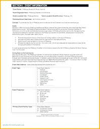 fundraising report template event financial report template