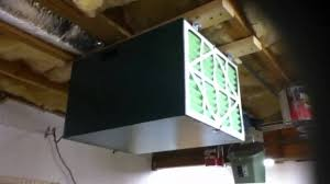 Grizzly S Air Filtration Unit For Basement Workshop Youtube