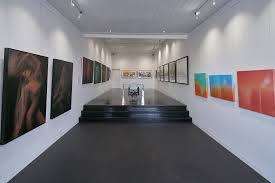 studio track lighting. Black Polished Floorboards · Studio B Gallery Exhibition Opening Night Track Lighting