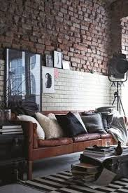what style apartment fits you masculine interior bricks and