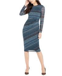 Inc Side Ruched Midi Dress Created For Macys