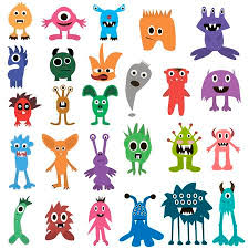 monster images for kids. Beautiful Monster Cartoon Monsters Big Set Colorful Toy Monster Cute Monster Monster Flat  Monster On Images For Kids E