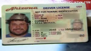 Head License Man On Driver's His Wears Photo Strainer In