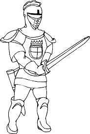 Small Picture Coloring Pages For Kids Online Knight Coloring Page Fresh In