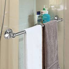 towel bar with towel. HotelSpa AquaCare Series Insta-mount 18\ Towel Bar With .