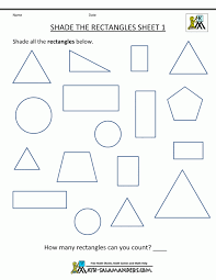 Kids. geometric shapes worksheets: Kids Can Count Identify And Trace ...