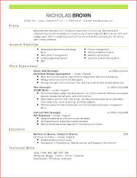 New Resume With Picture Formal Letter