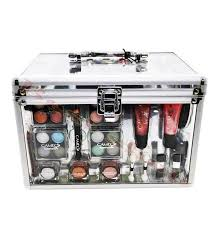 cameo cosmetics b 221 by cameo collection carry all trunk makeup kit makeup pedicure manicure