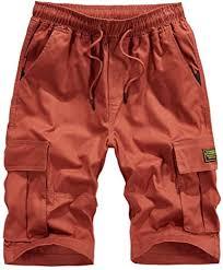 MODOQO <b>Men's</b> Tactical Shorts-<b>Summer</b> Fashion Pure Color Elastic ...
