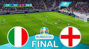 ITALY vs ENGLAND - UEFA Euro 2020 Final   Full Match HD All Goals   Football  Live PES 2021 - YouTube