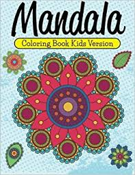 mandala coloring book kids version sdy publishing llc 9781681457307 amazon books