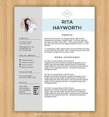 Microsoft Word Resume Templates Free Download Example Download
