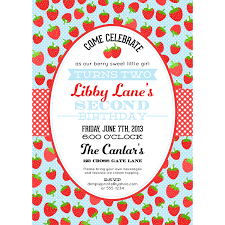 Invitation Downloads New Strawberry Blue Birthday Party Invitation Printable Dimple Prints Shop