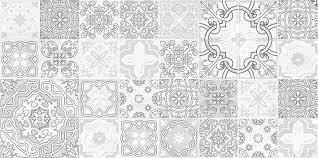 Плитка 75089 <b>Декор Concrete</b> Vimp серый, коллекция <b>Concrete</b> ...