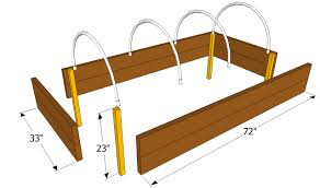 build a raised garden bed. Build A Covered Raised Bed Garden