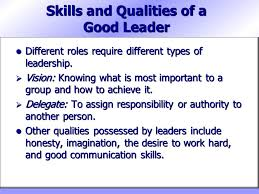 skills possessed part 2 skills for success chapter 10 leadership and group dynamics