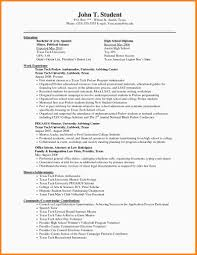 High School Resume Sampleional Without Diploma Fresh Unique