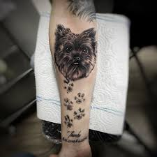 Tetování Památka Na Pejska Tetování Tattoo