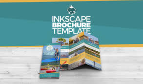Design Brochure Online Free Inkscape Brochure Template Video Tutorial And Free Download