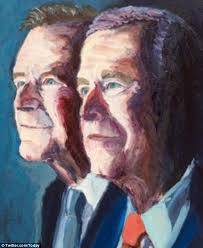 new work portrait artist and former u s president george w bush has revealed a new